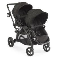 Contours Options Elite Black Carbon Aluminum Tandem Stroller