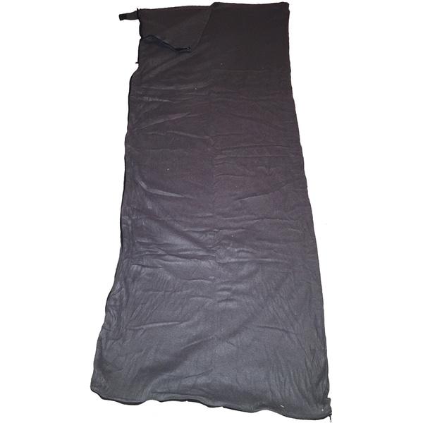 Moose Country Gear Black Fleece Sleeping Bag Liner