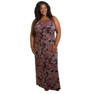 Sealed with a Kiss Women's Plus Size Sophie Maxi Dress