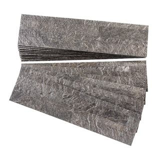 Aspect Frosted Quartz Peel and Stick Stone Backsplash 15 sq. ft. Kit|https://ak1.ostkcdn.com/images/products/12376662/P19200550.jpg?impolicy=medium