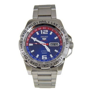 Seiko Men's SRP681K1 5 Sports Blue Watch