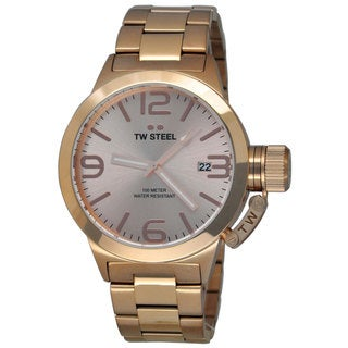 TW Steel Men's CB231 Canteen Rose Gold Watch