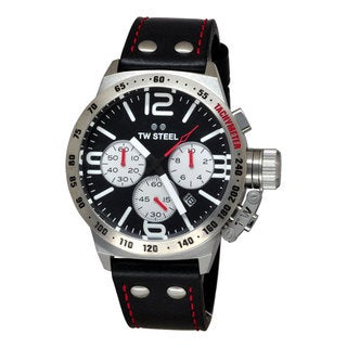 TW Steel Men's CS7 Canteen Black Watch