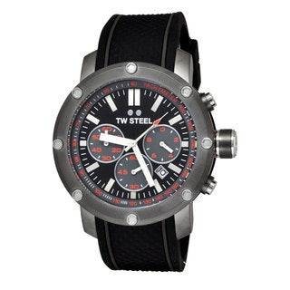 TW Steel Men's TS4 Grandeur Tech Black Watch