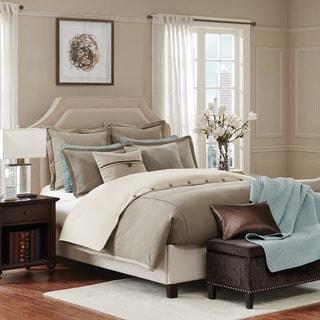 Hampton Hill Kingston Taupe Comforter Set