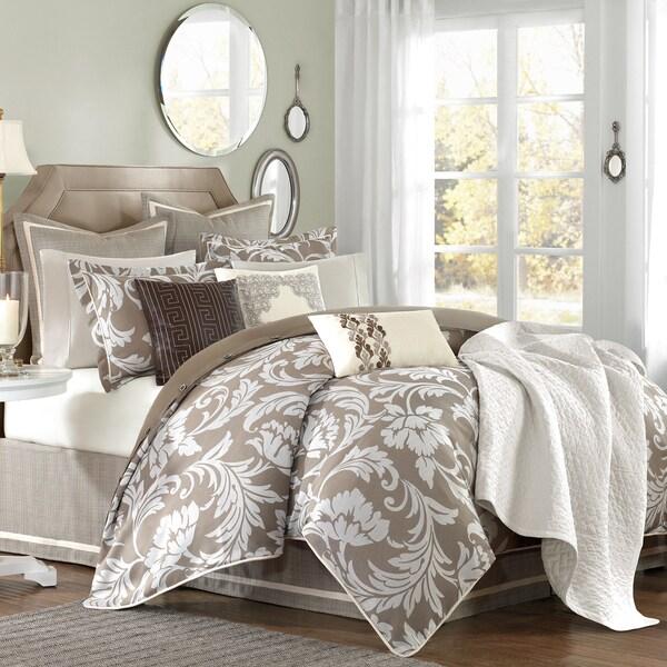 Hampton Hill Belville Khaki Comforter Set