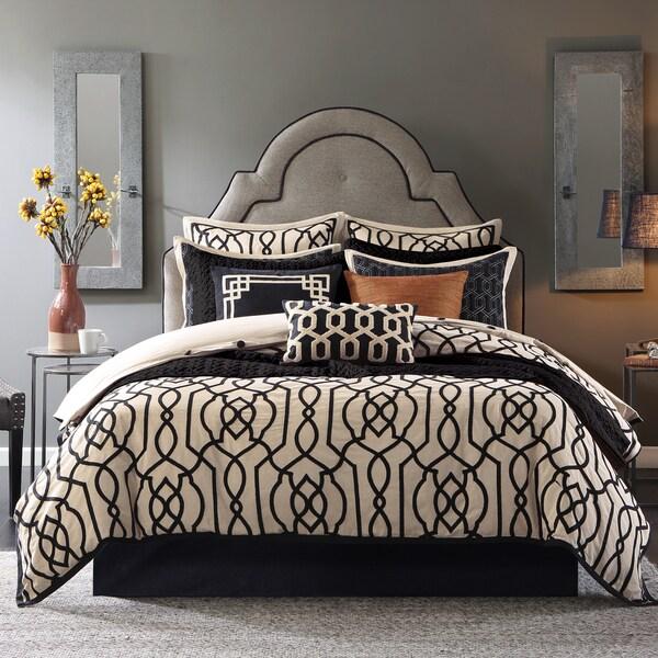 Hampton Hill Marrakesh Multi Cotton Comforter Set with Bedskirt