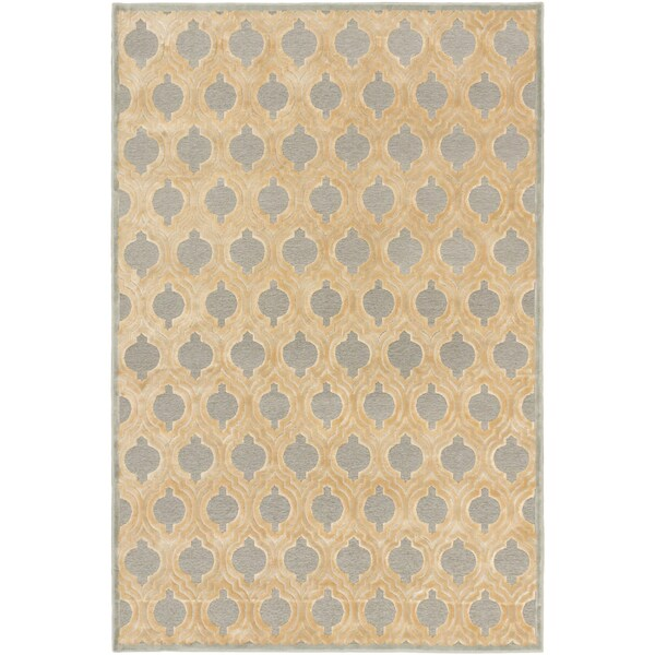 ECARPETGALLERY Hand Tufted Timeless Brown Wool Rug - 8'6 x 11'6