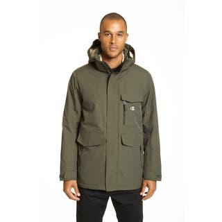 Champion Men's Technical Ottoman 3/4 Length Millenial Jacket|https://ak1.ostkcdn.com/images/products/12377009/P19200811.jpg?impolicy=medium