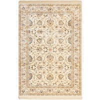 ECARPETGALLERY Machine Woven Atlas Marrakech Cream, Dark Grey Polypropylene Rug - 7'10 x 10'10