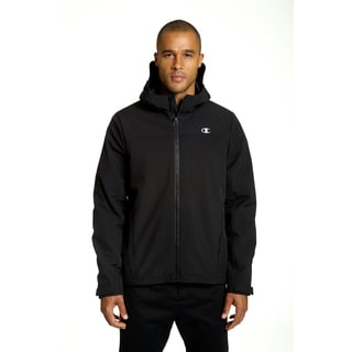 Champion Men's Black Softshell Insulated Midweight Jacket