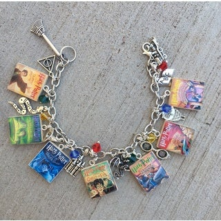 Harry Potter Inspired Scrabble Tile Charm Bracelet