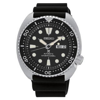 Seiko Men's SRP777 Automatic Diver's Chronograph Black Dial 200 Meter Watch