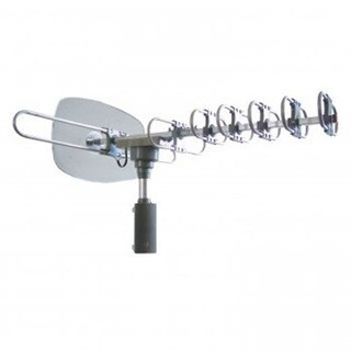 HDTV 360-degree Rotating Motor 1080p Quality Reception Outdoor Antenna