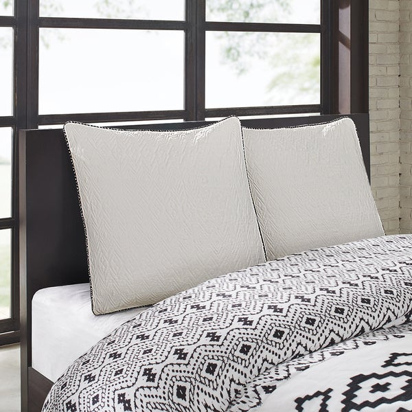 Echo Design™ Kalea Aqua Cotton Reverseble Euro Sham