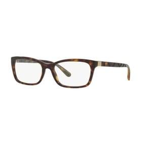 Burberry BE2220 3002 Dark Havana Rectangle Eyeglasses w/ 52mm Lens