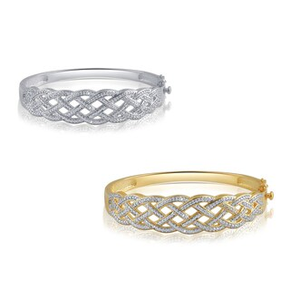 Divina Diamond Accent Fashion Bangle (I-J, I2-I3)