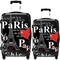 iKase 'Eiffel Tower Paris' 2-piece Fashion Harside Spinner Luggage Set