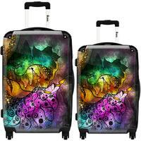 iKase 'The Sleeping Beauty' 2-piece Fashion Harside Spinner Luggage Set