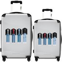 iKase 'Ramones' 2-piece Fashion Harside Spinner Luggage Set