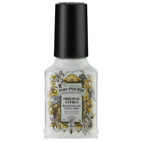 Shop poo pourri 2 ounce original citrus before you go toilet spray free shipping on orders for Poo pourri before you go bathroom spray