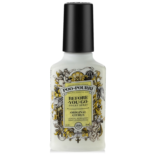 Shop poo pourri 4 ounce original citrus before you go toilet spray free shipping on orders for Poo pourri before you go bathroom spray