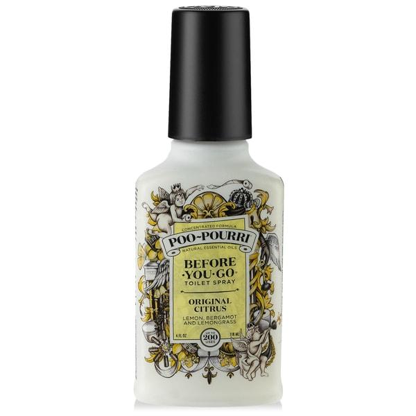 Shop poo pourri 4 ounce original citrus before you go - Poo pourri before you go bathroom spray ...