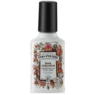Poo-Pourri 4-ounce Rose Geranium Before-You-Go Toilet Spray