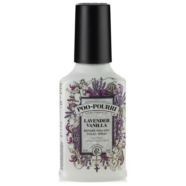Poo Pourri Lavender Vanilla 4 Ounce Before You Go Toilet Spray Free Shipping On Orders Over