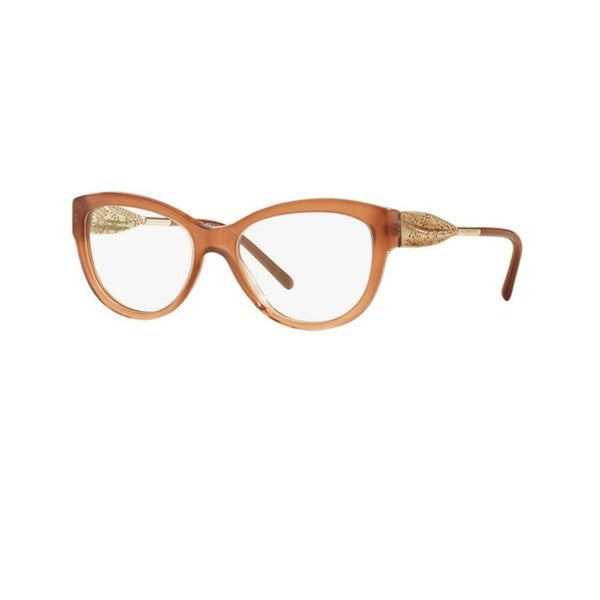 6bfe8f56fba Burberry BE2210F 3173 Brown Gradient Cat Eye Eyeglasses with 53mm Lens