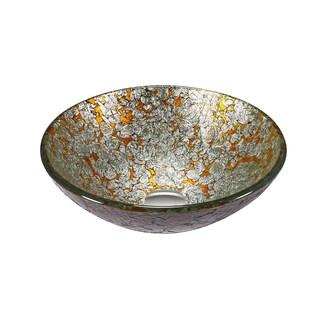 Legion Furniture Silvertone/Old Goldtone Vessel Bowl