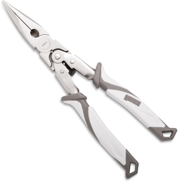Rapala Salt Angler's Nickel-plated Carbon Steel 9-inch Double-leverage Plier