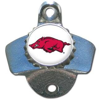 Collegiate Arkansas Razorbacks Wall-mounted Bottle Opener (Option: Arkansas Razorbacks)