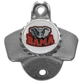 Collegiate Alabama Crimson Tide Wall-mounted Bottle Opener