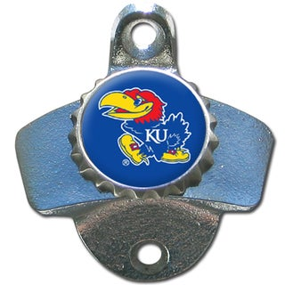 Collegiate Kansas Jayhawks Wall Mounted Bottle Opener