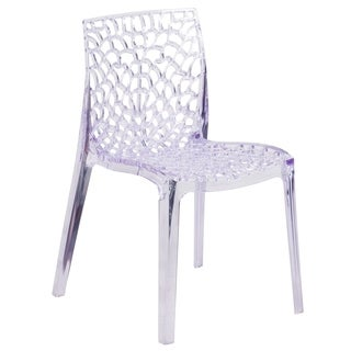 Vision Series Transparent Stacking Dining Chair