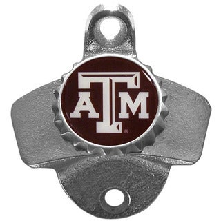 Collegiate Texas A & M Aggies Multicolored Metal Wall-mounted Bottle Opener