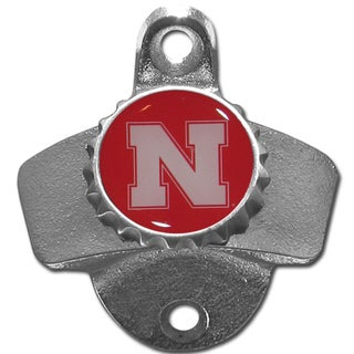 Collegiate Nebraska Cornhuskers Wall-mounted Bottle Opener