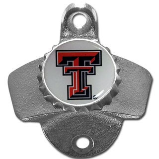 Collegiate Texas Tech Raiders Wall-mounted Bottle Opener