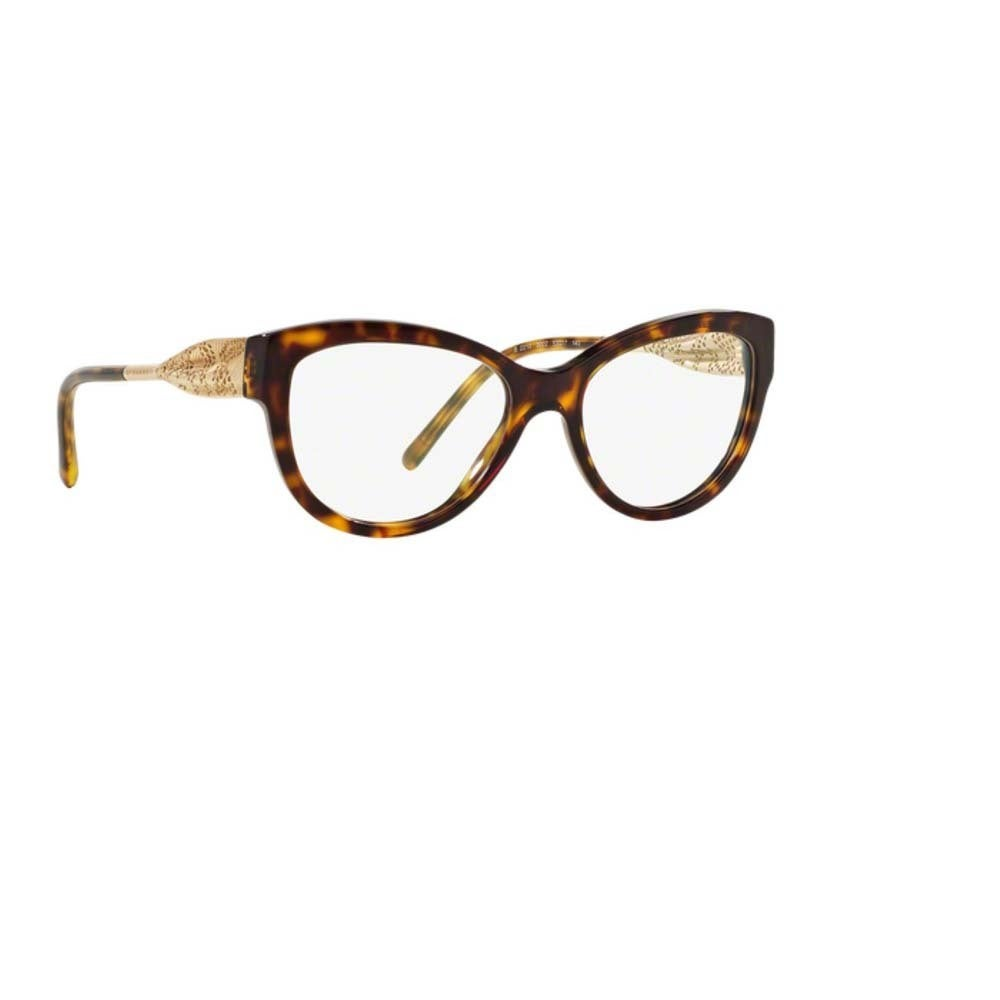 ed473a9a11b26 Shop Burberry BE2210 3002 Dark Havana Plastic Cat Eye Eyeglasses with 53mm  Lens - Dark Havana - Free Shipping Today - Overstock - 12378012