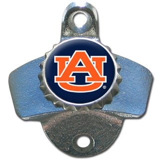 Collegiate Auburn Tigers Multicolored Metal Wall-mounted Bottle Opener