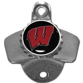 Collegiate Wisconsin Badgers Wall-mounted Bottle Opener