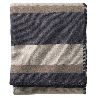 Pendleton Eco-wise Midnight Navy Stripe Washable Wool Blanket|https://ak1.ostkcdn.com/images/products/12378048/P19201694.jpg?impolicy=medium