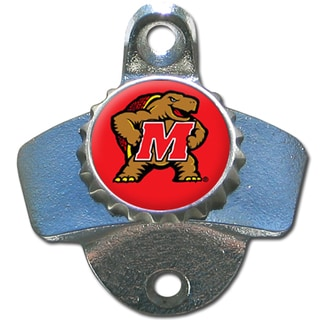 Collegiate Maryland Terrapins Metal Wall-mounted Bottle Opener