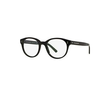 Burberry BE2194 3001 Black Plastic Phantos Eyeglasses with 50mm Lens