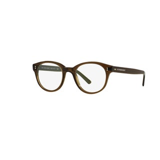 Burberry BE2194 3010 Olive Green Plastic Phantos Eyeglasses with 48mm Lens