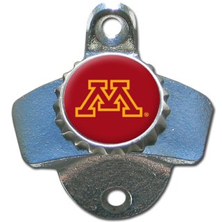 Collegiate Minnesota Golden Gophers Multicolored Metal Wall-mounted Bottle Opener