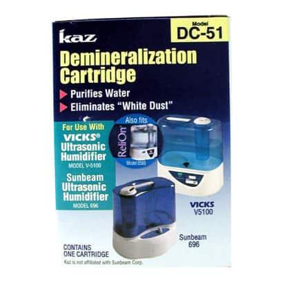 Kaz DC-51-6 Demineralization Cartridge