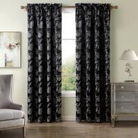 Lyon Jacquard 84-inch Curtain Panel - 50 x 84