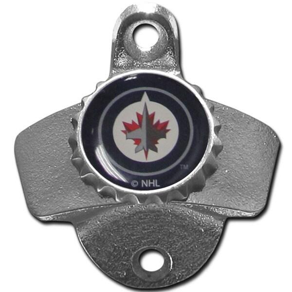 NHL Winnipeg Jets Wall-mounted Bottle Opener